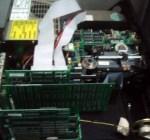Interior da CPU do IBM XT 5160