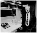 """O nome """"Modelo K"""" porque a maior parte foi construída em cima da mesa da cozinha (kitchen). Ele trabalhou no princípio de que, se dois Relés fossem ativados, eles causariam um terceiro Relé a tornar-se ativo, onde este terceiro Relé era representado pela Soma da Operação. Em 1964 ingressou no Departamento de Fisiologia da Dartmouth Medical School como um Associado de Pesquisa. Stibitz tornou-se Professor em 1966 e Professor Emérito em 1970. Ele recebeu 34 Patentes"""